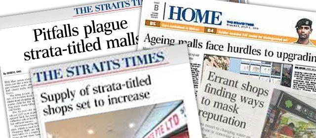 Strata-Titled Mall