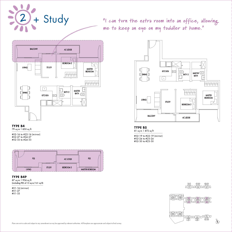 2 + Study