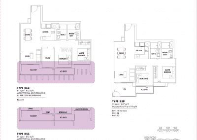 2 Bedroom / 2 + Study