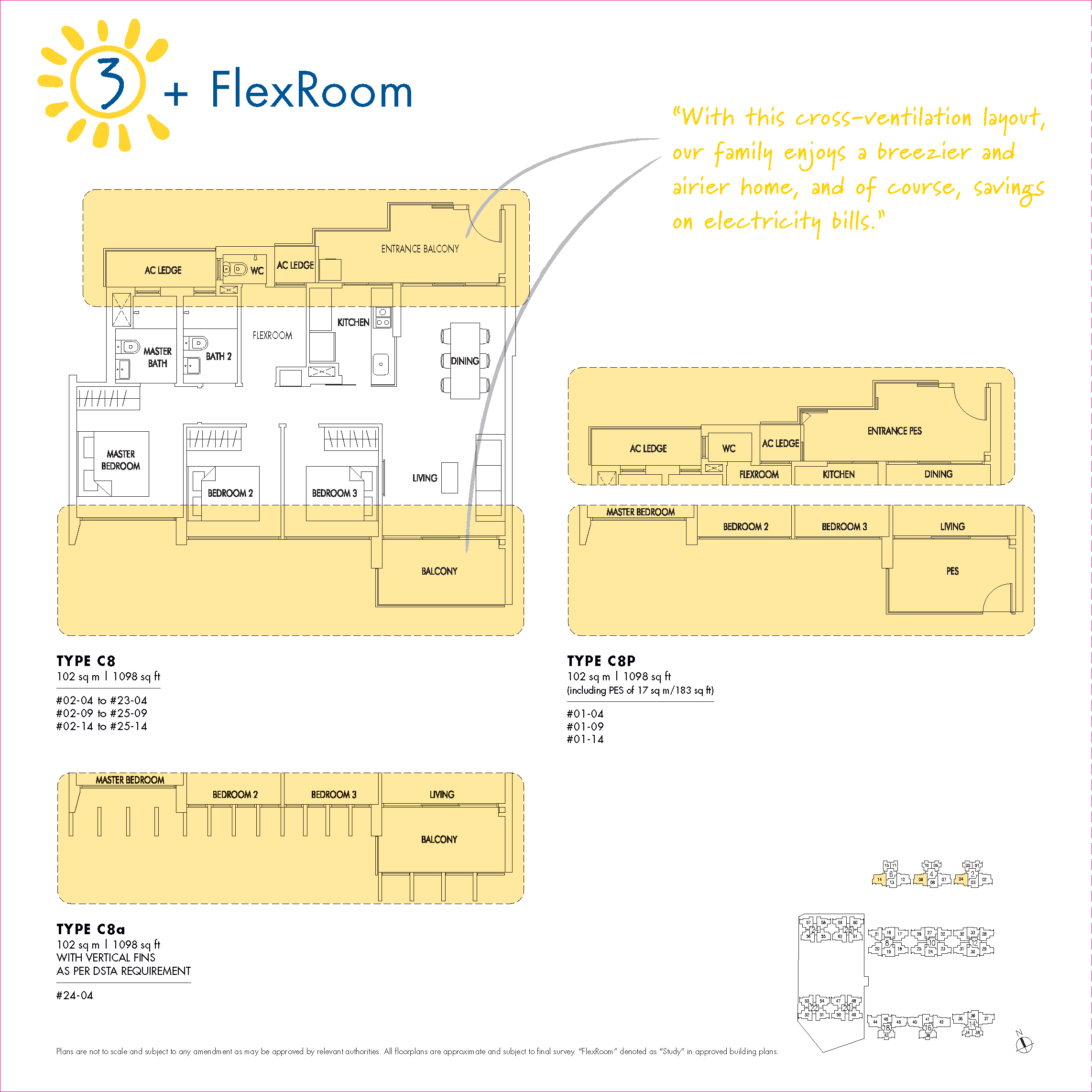 3 + Flexroom