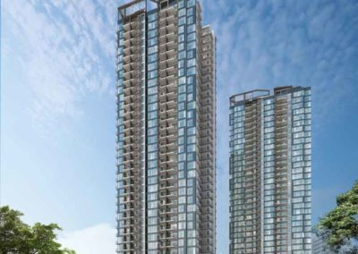 2 Blocks of Residential at Gem Residences
