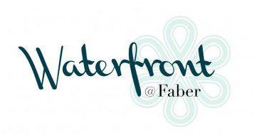 waterfront at faber logo