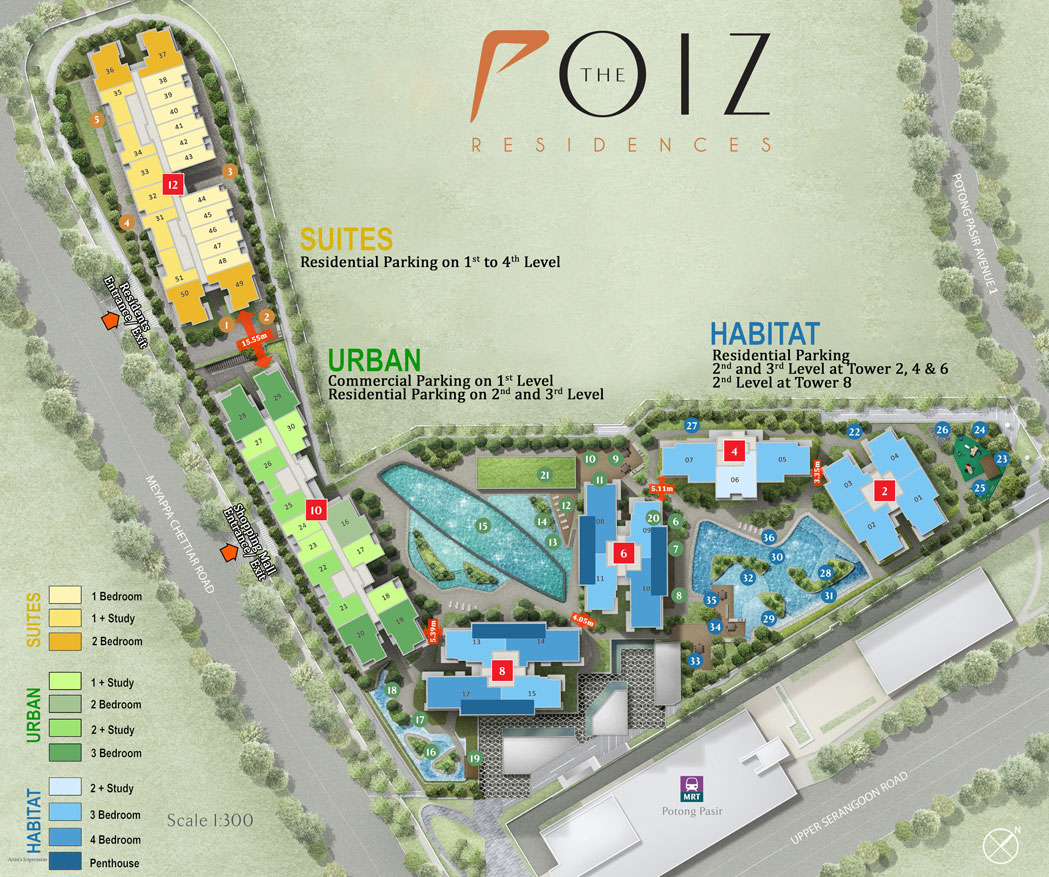 The Poiz Site Plan