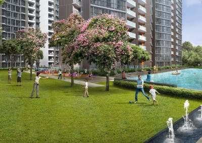 Sims Urban Oasis - Lawn