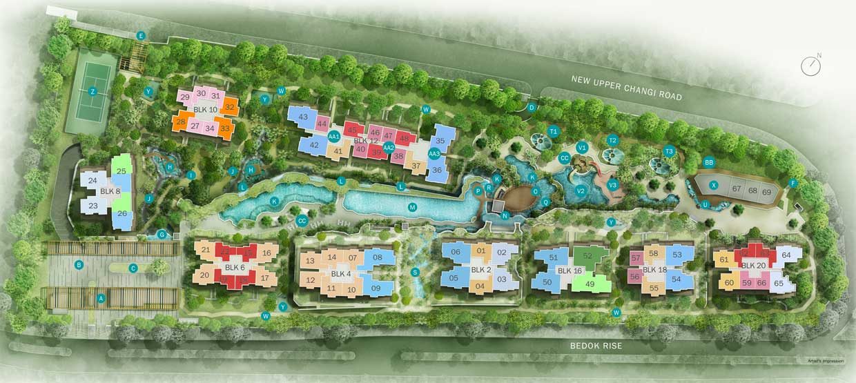 Site Plan for The Glades