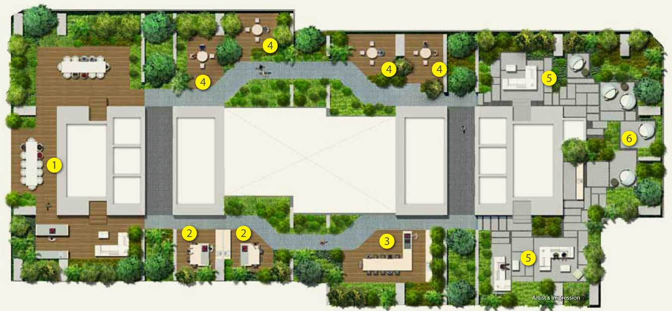 Site Plan for V on Shenton (luxuri8)