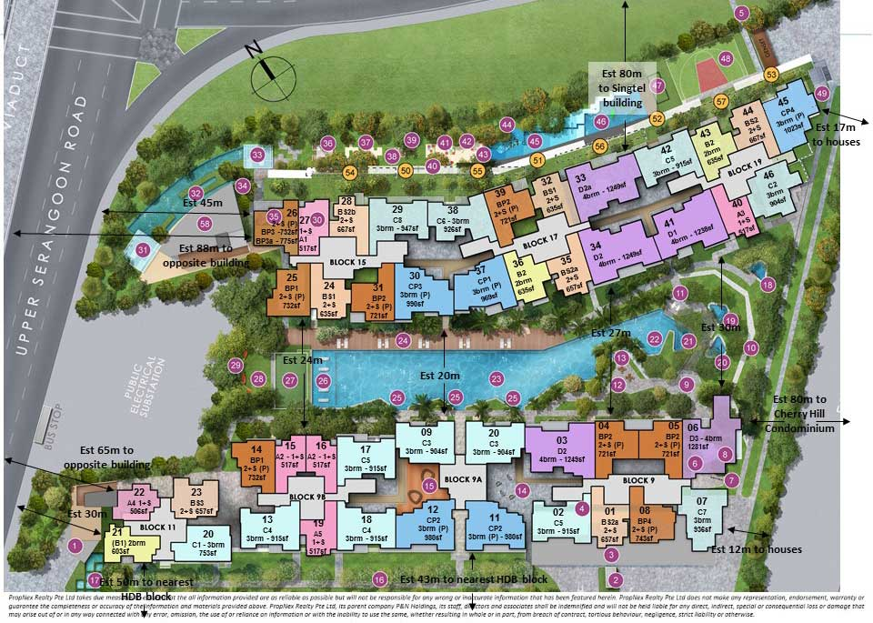 Forestwoods Site Plan