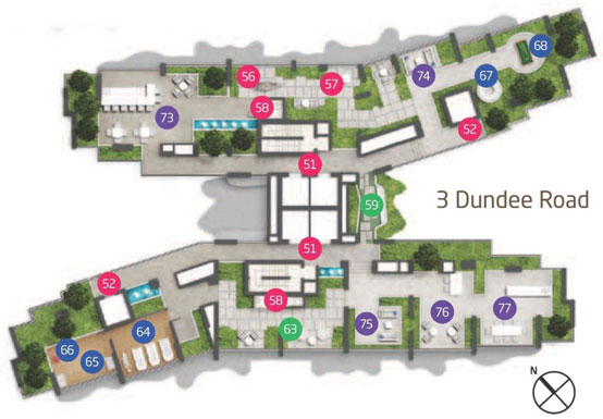 Site Plan - Level 27