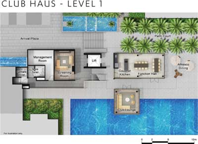 Criterion Club Haus Level 1