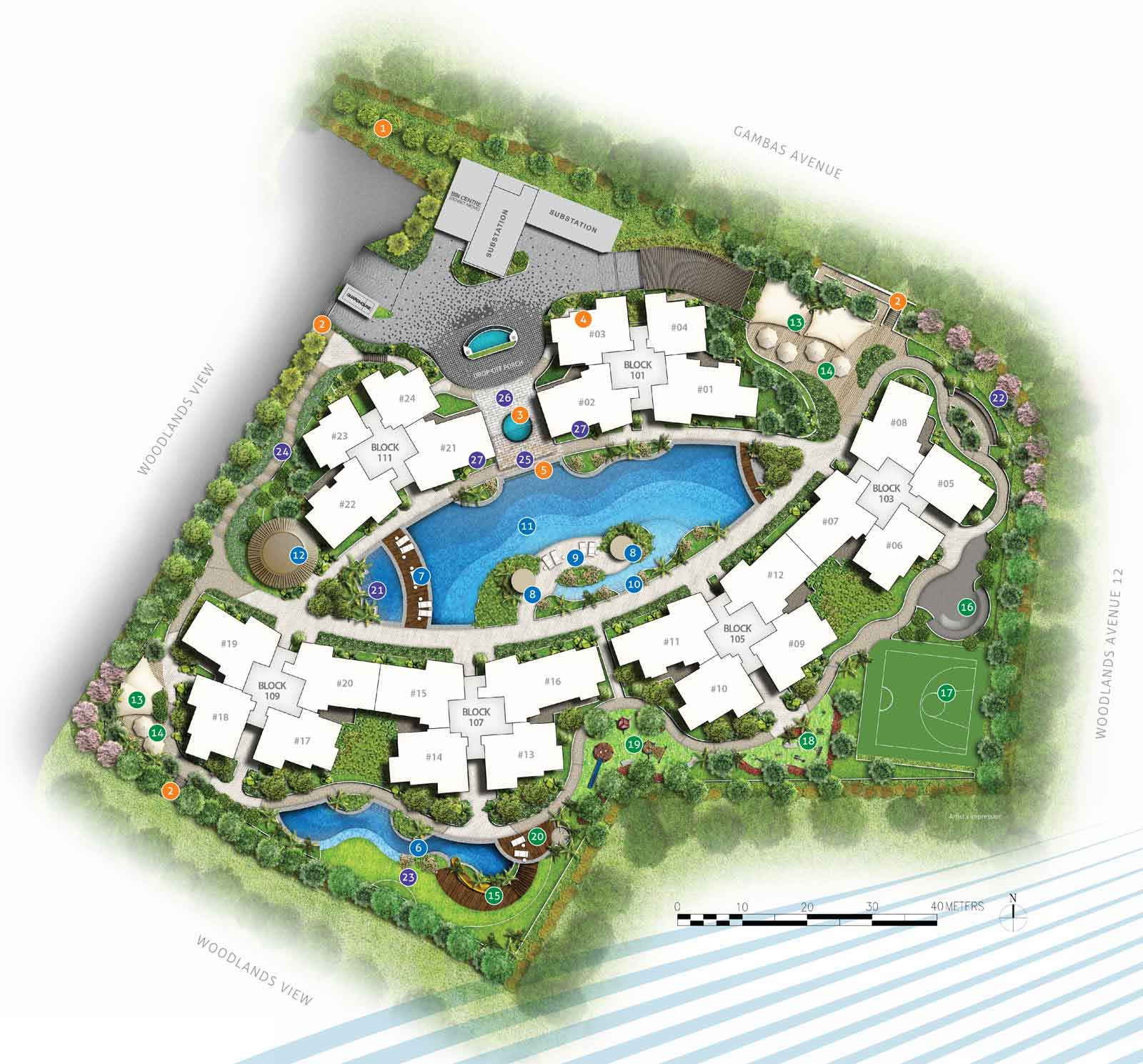 Site Plan for NorthWave