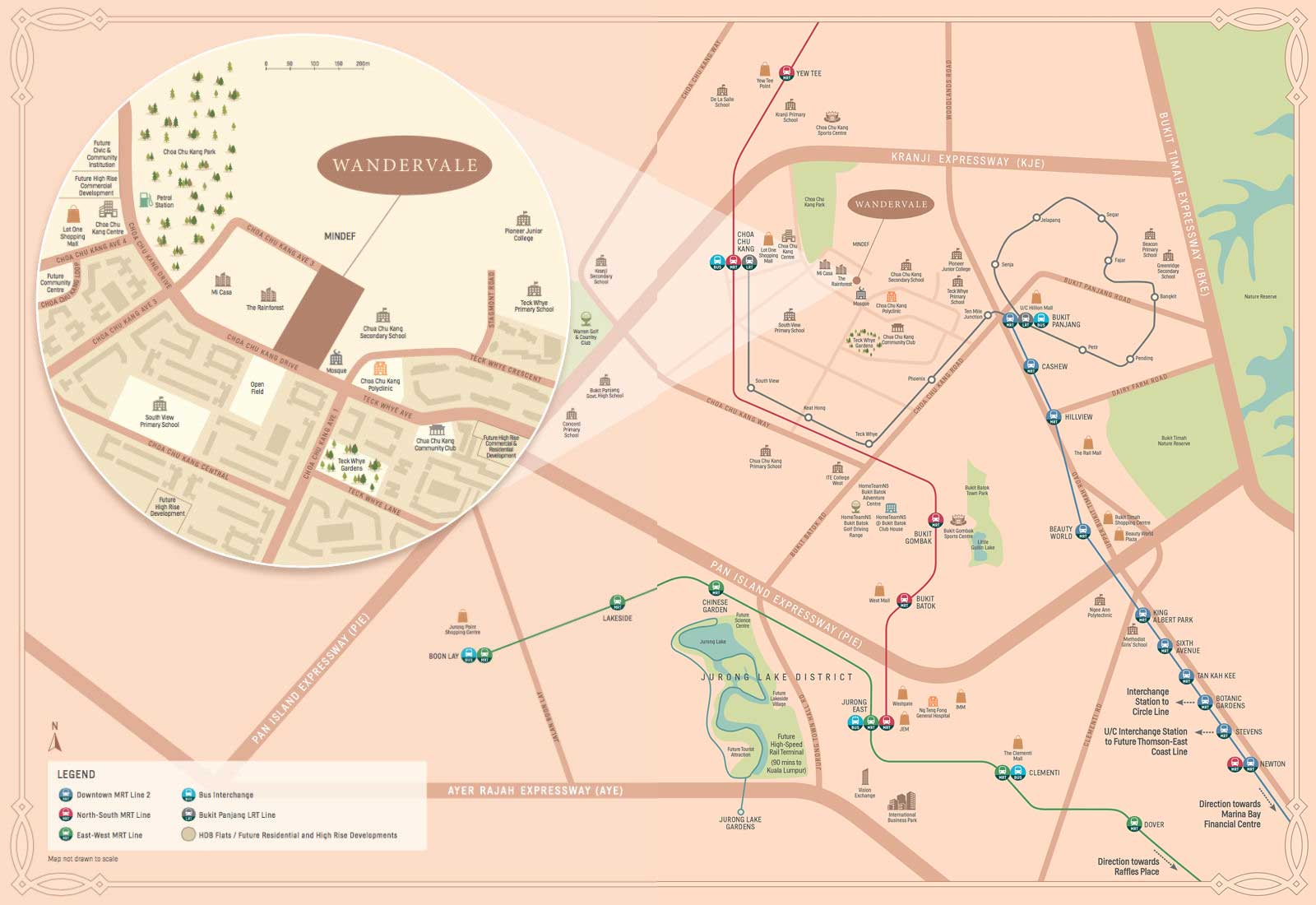 Location Map of Wandervale
