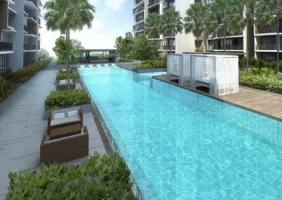 iNZ Residence Swimming Pool