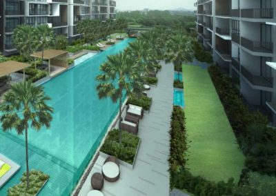 iNZ Residences Pool 3