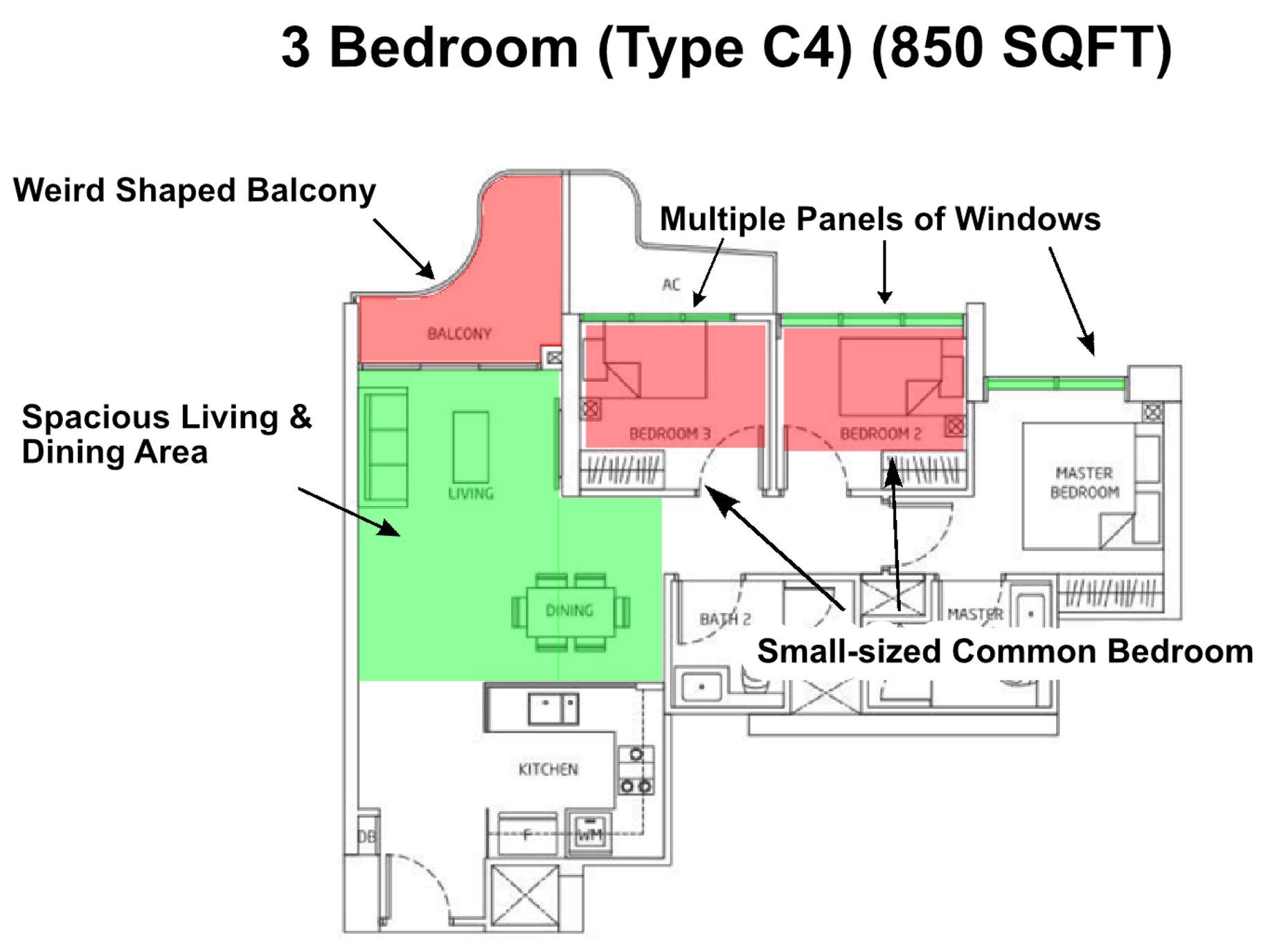 Queens Peak 3 Bedroom Floor Plan Review