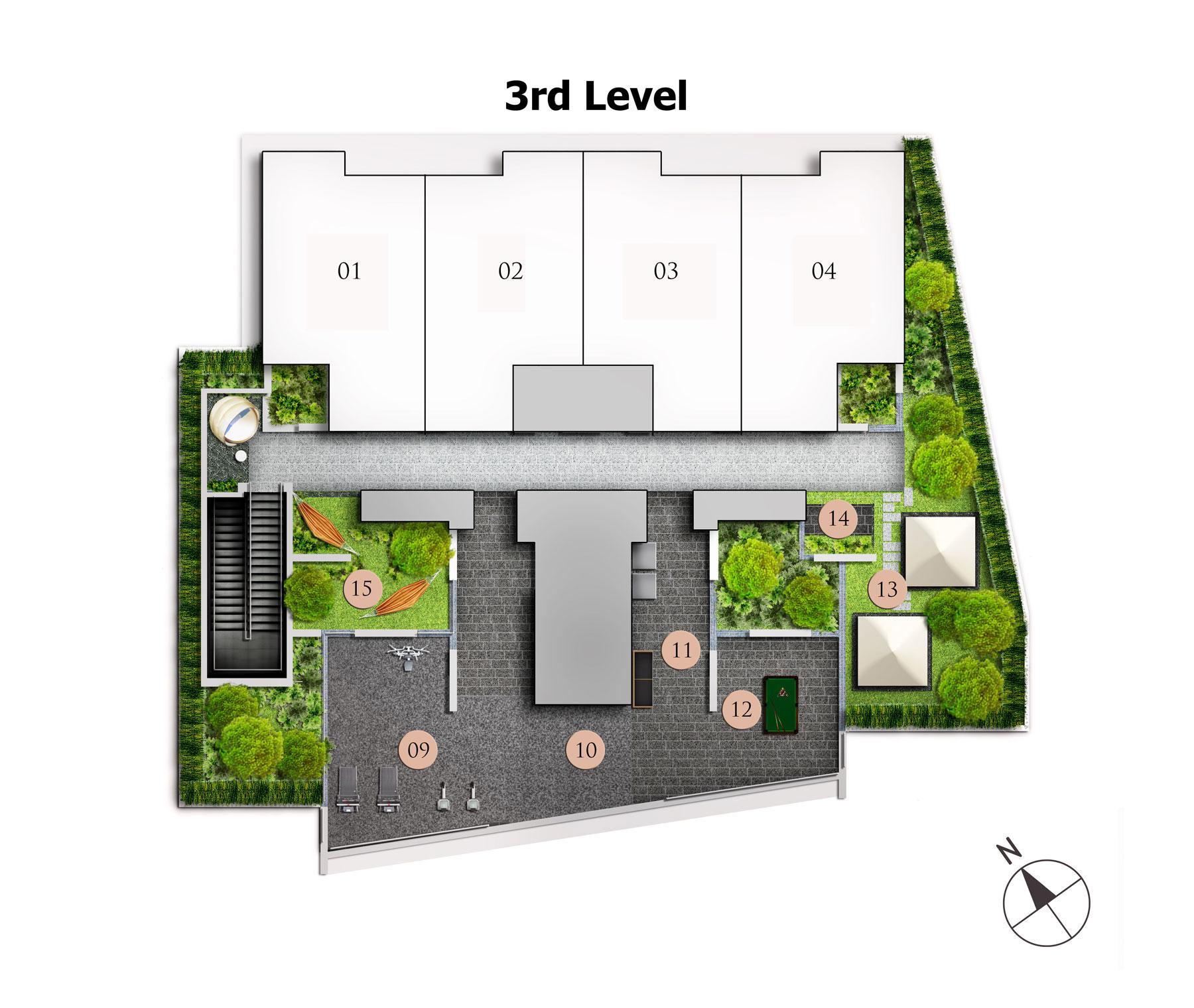 Site Plan Level 3