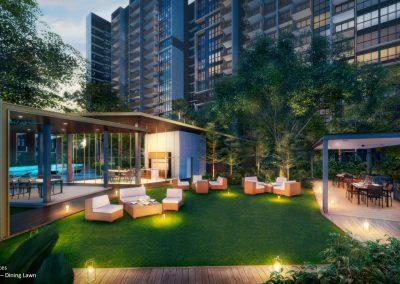 Riverfront Residences Dining Lounge
