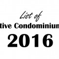 List of Executive Condominiums EC 2016