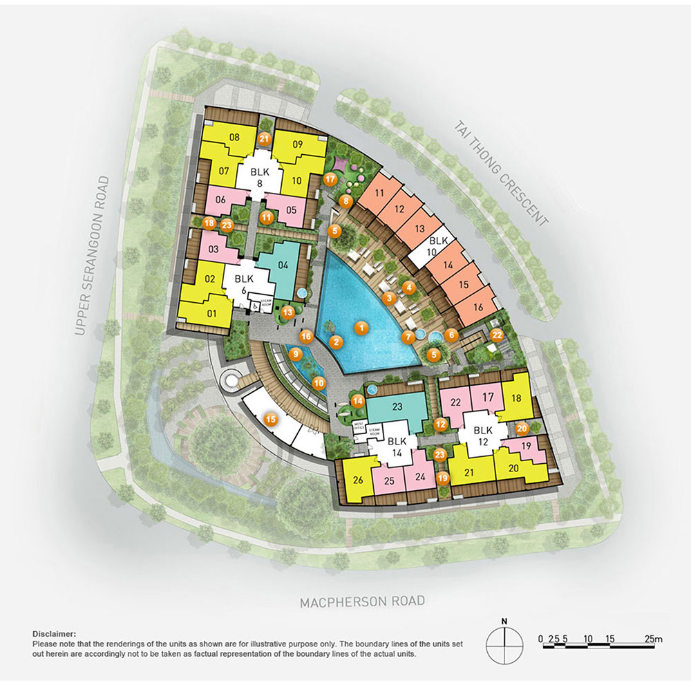 The venue residences shoppes by developer sales team for Residential site plan