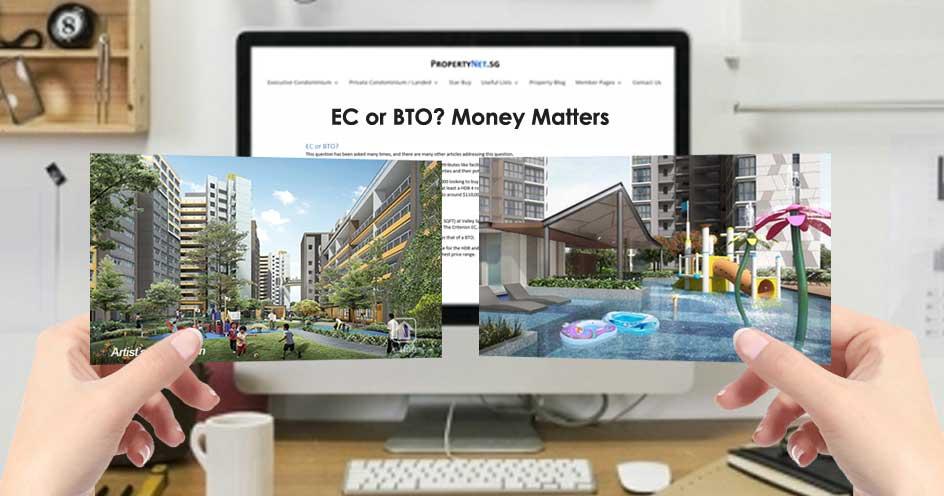 Executive Condo (EC) or BTO? A Money Matters Approach.