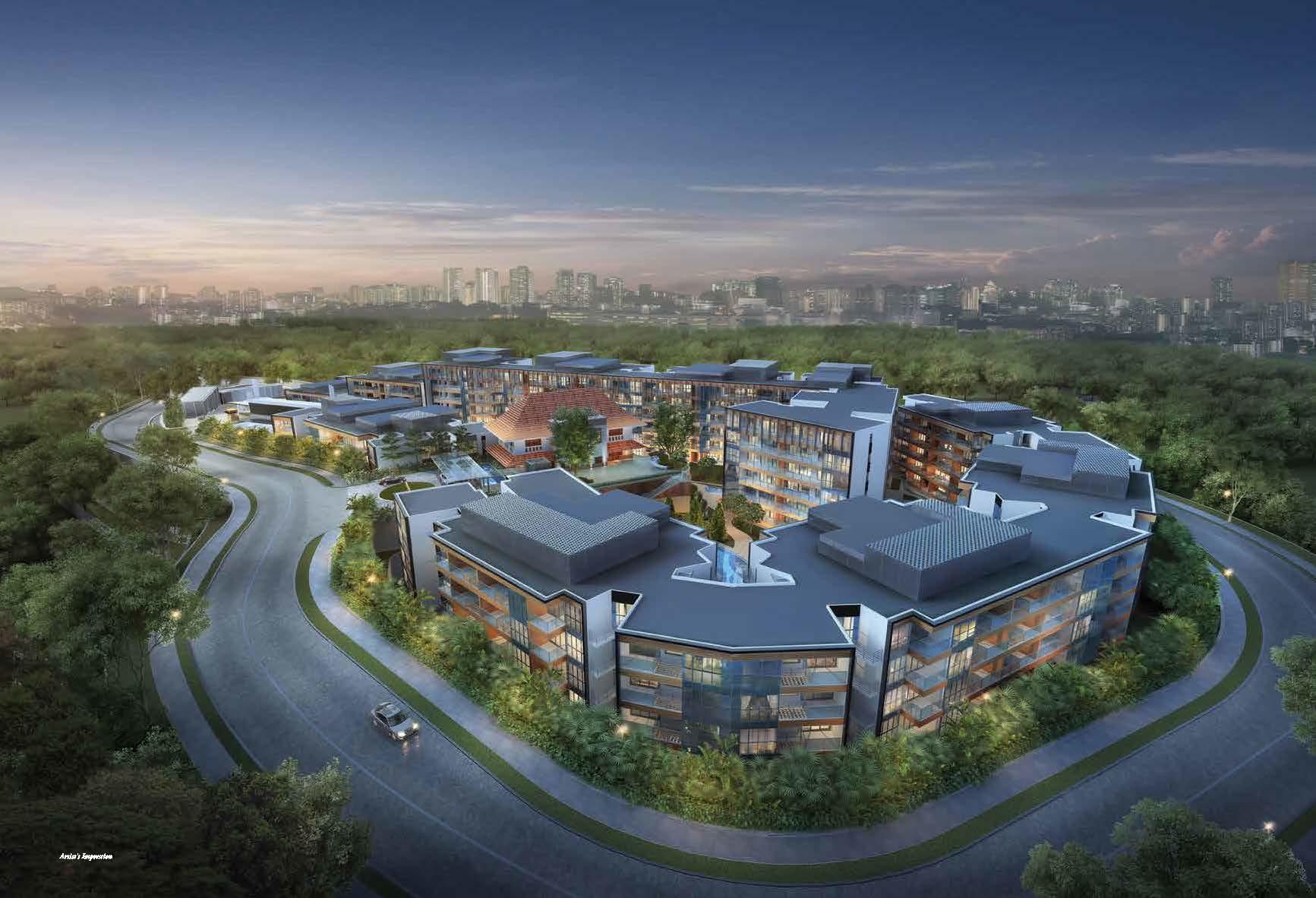Sophia hills new residential property at prime for Sophia house