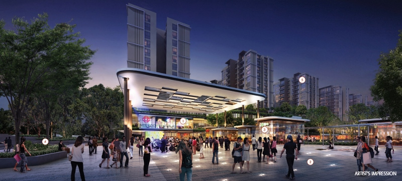 North Park Residences Integrated Development At Yishun